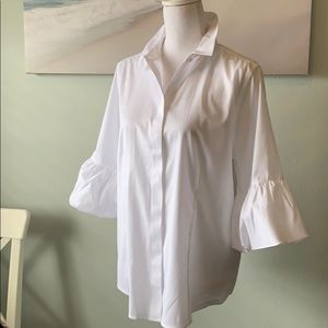 Chico's Bubble Sleeve Shirt